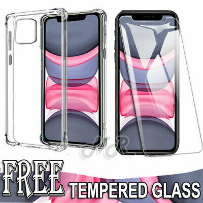 AU8.49 • Buy For IPhone 12 Mini 11 Pro XS Max XR X 7 8 Clear Case Shockproof Heavy Duty Cover