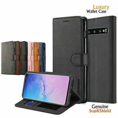 AU12.99 • Buy For Samsung Galaxy S20+ Ultra S8 S9 S10 Plus S10e Wallet Leather Flip Case Cover
