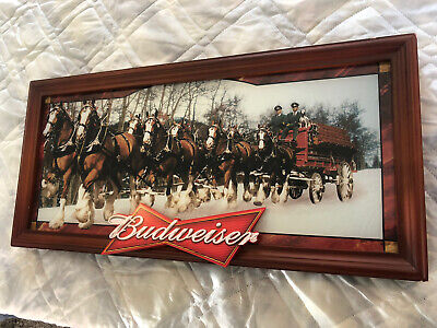 $ CDN294 • Buy  Budweiser Clydesdale Light Up Sign. Works!