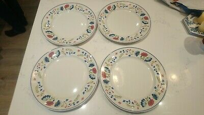 £20.99 • Buy BHS British Home Stores PRIORY 4 X 10  DINNER PLATES Large Vintage Floral