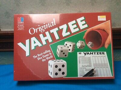 Original Yahtzee Game By MB - Vintage (1994) - Brand New In Sealed Shrink Wrap. • 12.99£