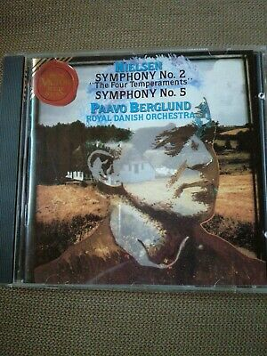 Nielsen: Symphony Nos. 2 & 5. Royal Danish Orchestra - Berglund. RCA Red Seal CD • 2.50£