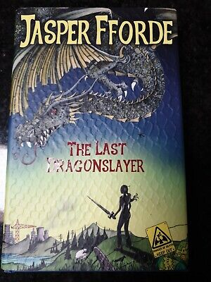 Jasper Fforde The Last Dragonslayer Scarce 1st Edition  • 55£