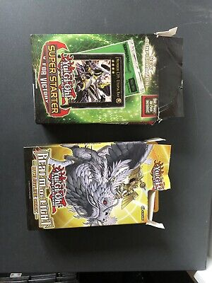 Yugioh Decks Realm Of Light Structure Deck And Super Star V For Victory • 2.10£