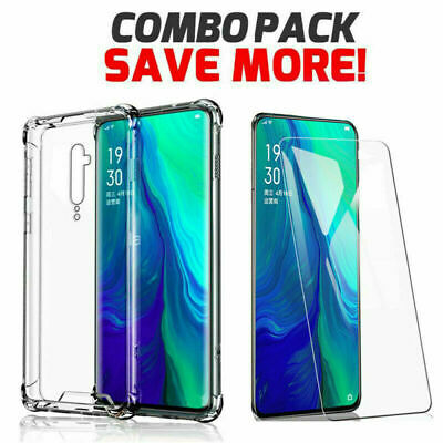 AU7.99 • Buy For Oppo AX7 AX5 AX5S A3S A73 Reno Z 2Z Clear Case Shockproof Heavy Duty Cover