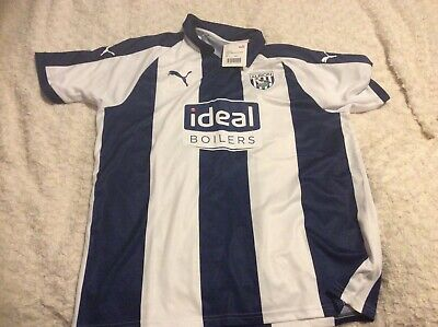 New West Bromwich Albion Football Top Size Small • 5£