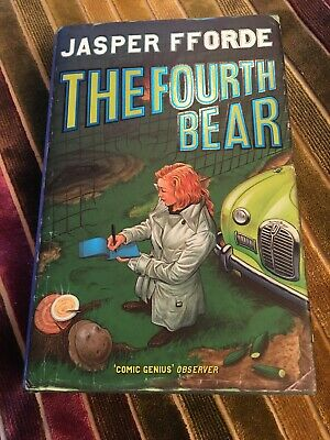 Jasper Fforde - The Fourth Bear - First UK Edition, Signed, With Card • 9.99£