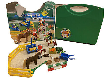 Playmobil Country Horse Pony Farm Carry Case 5893 • 0.99£