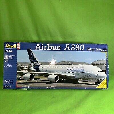 REVELL Airbus A380  New Livery  1:144 Aircraft Model Kit - 04218 • 19.95£