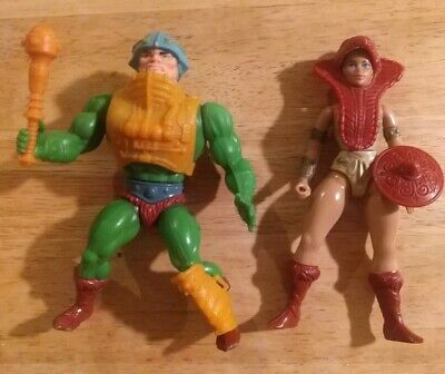 $30 • Buy MOTU Lot Teela & Man At Arms, Masters Of The Universe, He-Man Vintage 1981