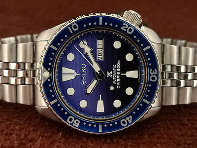$ CDN116.51 • Buy Vintage Seiko Diver 6309-729a Save The Ocean Face Mod Automatic Men Watch X81399