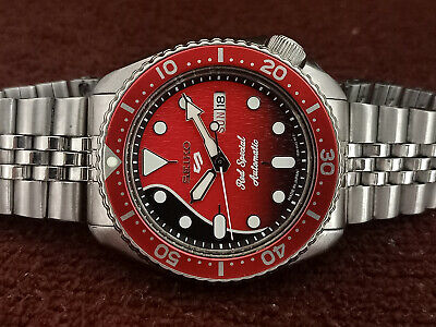 $ CDN22.91 • Buy Vintage Seiko Diver 6309-7290 Red Special Mod Automatic Men Watch 740626