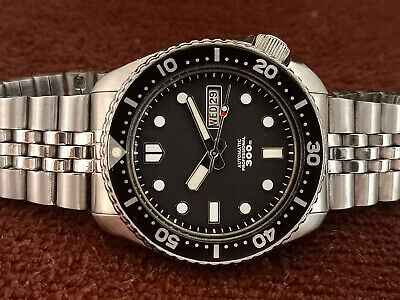 $ CDN119.13 • Buy Seiko Stunning Black Mm300 Mod Diver 6309-7290 Automatic Men Watch 723258
