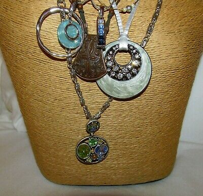 $ CDN13.02 • Buy Lot Of 5 Signed New W/Tags To Excellent Necklaces Lia Sophia Avon Lady Remington