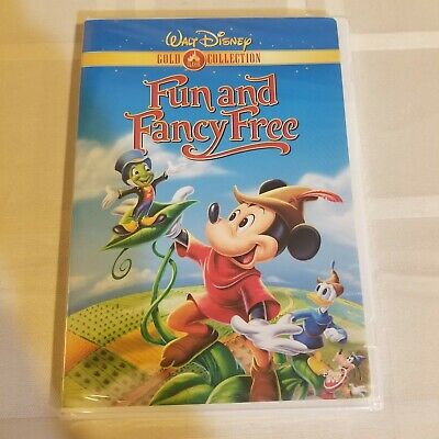 £18.15 • Buy Fun And Fancy Free DVD Gold Collection Edition Walt Disney Bongo Mickey Sealed