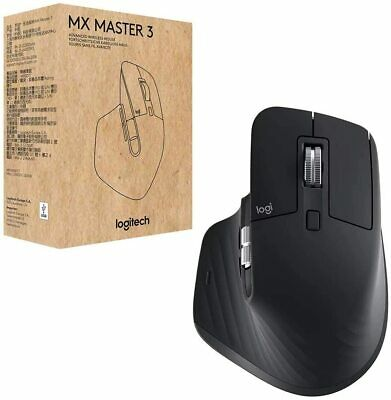 AU159 • Buy Logitech MX Master 3 Advanced Wireless Mouse - Black