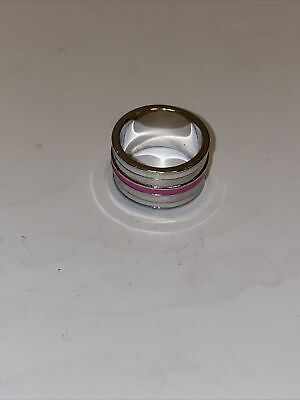 $ CDN25.05 • Buy Lia Sophia  Purple And Silver Ring Size 9