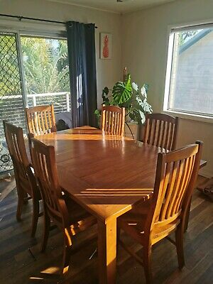 AU600 • Buy Solid Timber 6 Seater Dining Table.