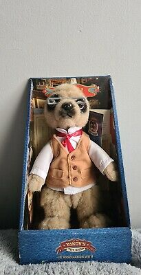 New In Box Yakov - Compare The Meerkat Toy With Certificate • 7.75£