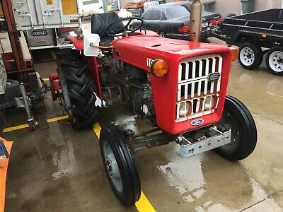 AU5500 • Buy Ford1000 Farm Tractor With 5 Foot Rotary Hoe Pto Driven In Excellent Condition