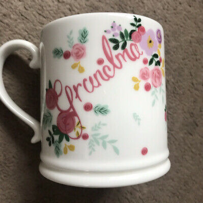 Grandma Mug M&S New Fine China Dishwasher & Microwave Safe • 3.99£