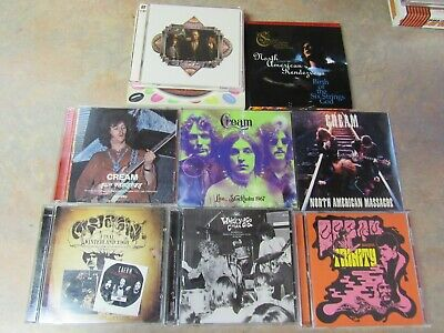 $ CDN13 • Buy Cream Live Concert Cd Collection Lot Of 8 Different Eric Clapton