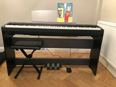 Yamaha P45 Digital Piano-88 Weigted Keys- Stand-stool-pedals • 100£