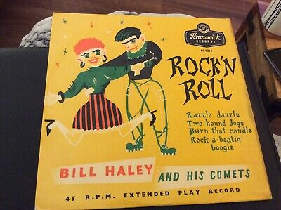 Bill Haley And His Comets, Rockn  Roll - Vinyl Single Ep • 2£