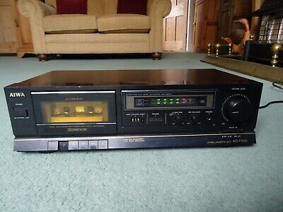 Aiwa AD-F300 Cassette Deck Tape Player Working Order New Belt Fit Dolby B&C • 49.99£
