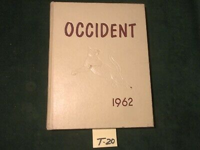 1962  T. L. HANDY High School Yearbook  OCCIDENT   ~Bay City, MI~ #T-20 • 37.59£