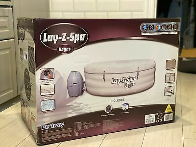 Lay-Z-Spa Vegas 4-6 Person Inflatable Airjet Hot Tub Jacuzzi READY TO SHIP • 689£