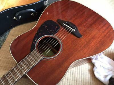 Yamaha Acoustic Guitar FG850 With Hard Case Good Product To Use In Japan • 589.86£