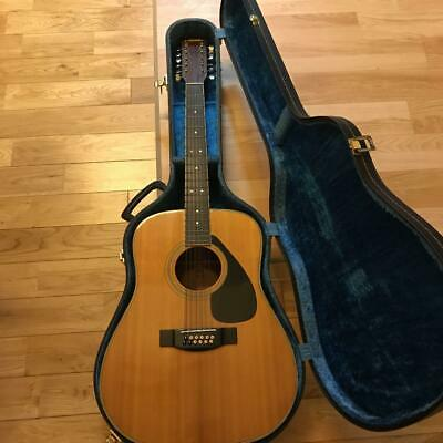 Yamaha FG12-250 String Acoustic Guitar Good Product To Use In Japan • 448.16£