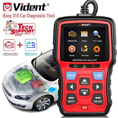 AU91.69 • Buy Vident IEasy310 ODB2 Automotive Scanner OBDII Code Reader An Car Diagnostic Tool