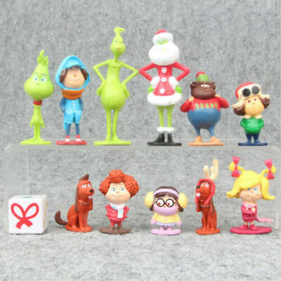 £8.99 • Buy How The Grinch Stole Christmas 12 PCS Cartoon Action Figure Kids Toy Doll Gifts
