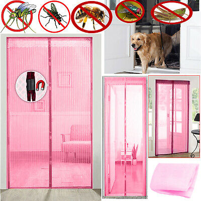 £5.25 • Buy Magnetic Mesh Door Magic Protection Curtain Snap Fly Bug Insect Mosquito Screen