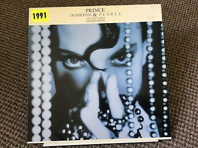 "Prince & The Npg Diamonds And Pearls 12"" Vinyl • 4£"