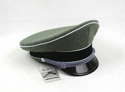 Replica Military WWII WW2 German Elite Officer Hat Officer Army Military Cap L • 35.66£
