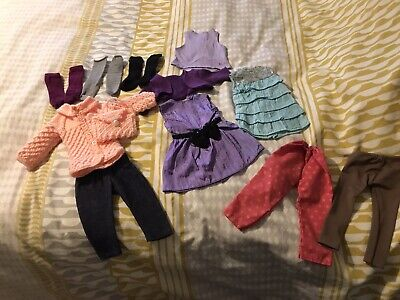 """Bundle Of Clothes For 18"""" Doll Like Our Generation/Design A Friend/American Girl • 2.50£"""