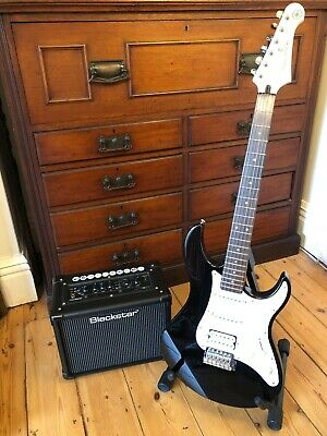 Hardly Played Yamaha Pacifica012 Electric Guitar Set With Blackstar Amp & Cable • 230£