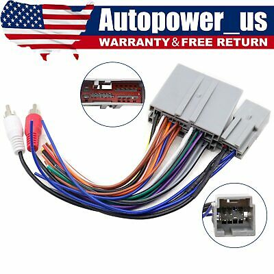 $11.49 • Buy Car Stereo Radio Wiring Harness Adapter Plug Fit For Ford Explorer F150 F250 350
