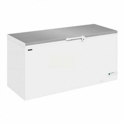 Commercial Chest Freezer Deep Stainless Steel 607L Interlevin LHF-620SS • 660£