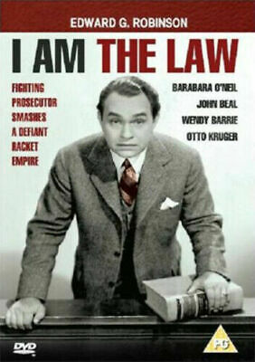 £5.95 • Buy I Am The Law Dvd Edward G. Robinson Brand New & Factory Sealed
