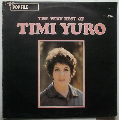 The Very Best Of Timi Yuro .  United Artists LBR 1034.  Tracks From 1961-1968.  • 4.95£