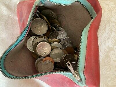 Various Foreign Mixed Bag Of Coins, Uncounted Or Documented, Not In Circulation • 5£