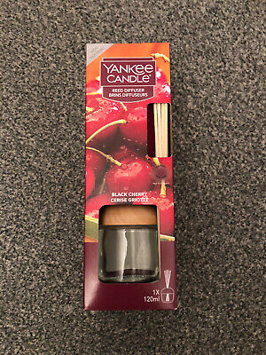 Yankee Candle Black Cherry Reed Diffuser 120ml New/sealed • 9£