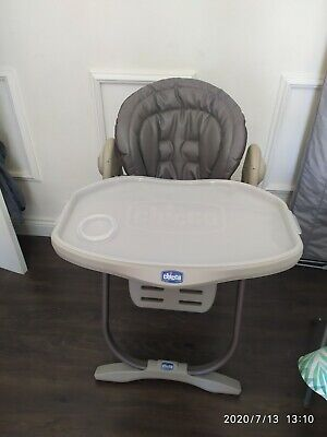 Chicco Polly Magic Highchair - TruffleSuitable From Birth Up To 3 Years Of Age • 35£