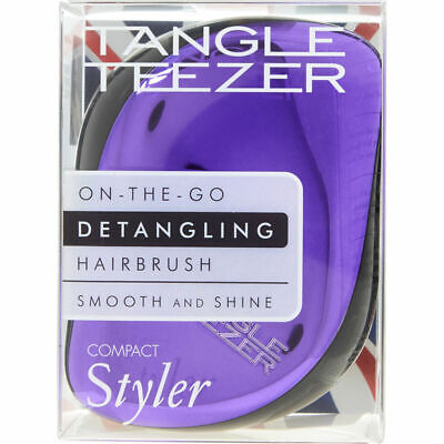Tangle Teezer Compact Styler Purple Dazzle - Detangling Brush • 9.99£