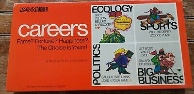 PARKER'S Careers: Excellent Family Board Game;1971vintage; Outstanding Condition • 10.50£