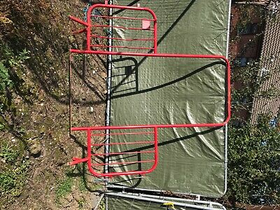 Red Walkthrough Gateway Crowd Control Site Barrier Frame • 0.99£